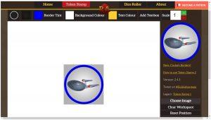 pantallazo de Token Stamp